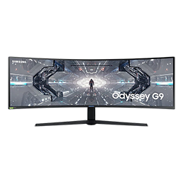 "49"" CRG9 4 ms 120 Hz Dual QHD QLED Kavisli Gaming Monitör"