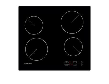 Siyah CTR464EB01 7.1 kW Slider Dokunmatik Kontrollü Elektrikli Ocak