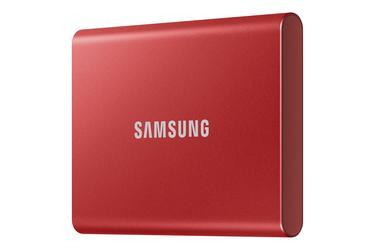 Kırmızı Taşınabilir SSD T7 USB 3.2 Gen 2 1TB (Kırmızı)