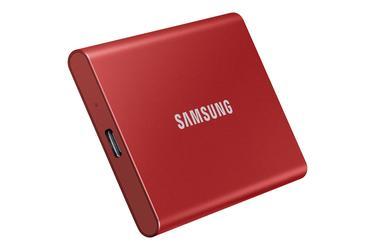 Kırmızı Taşınabilir SSD T7 USB 3.2 Gen 2 500GB (Kırmızı)
