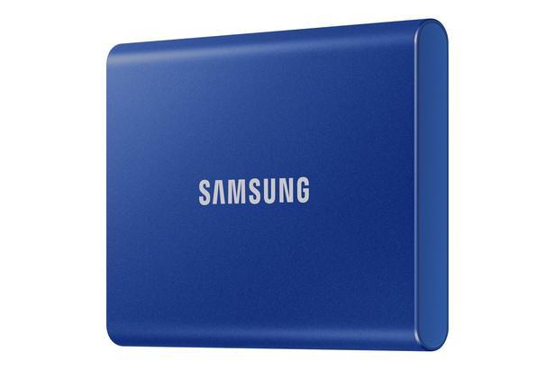 Mavi Taşınabilir SSD T7 USB 3.2 Gen 2 1TB (Mavi)