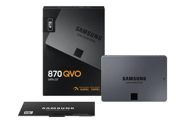 Siyah 870 QVO SATA III 2.5'' SSD 4 TB