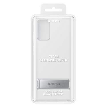 Şeffaf Galaxy Note20 Ayaklı Şeffaf Kılıf