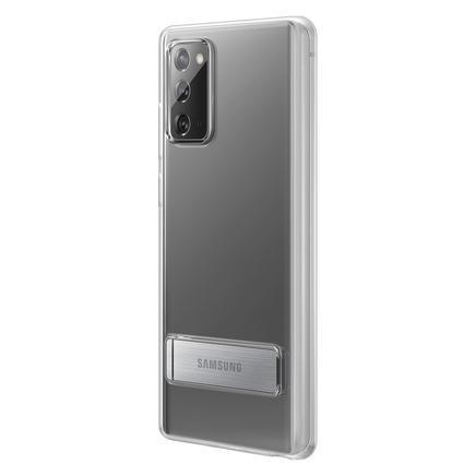 Galaxy Note20 Ayaklı Şeffaf Kılıf