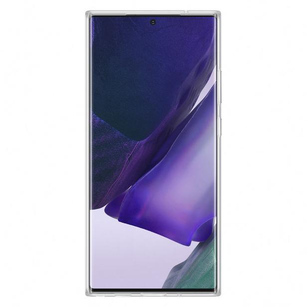 Şeffaf Galaxy Note20 Ultra için Şeffaf Kılıf