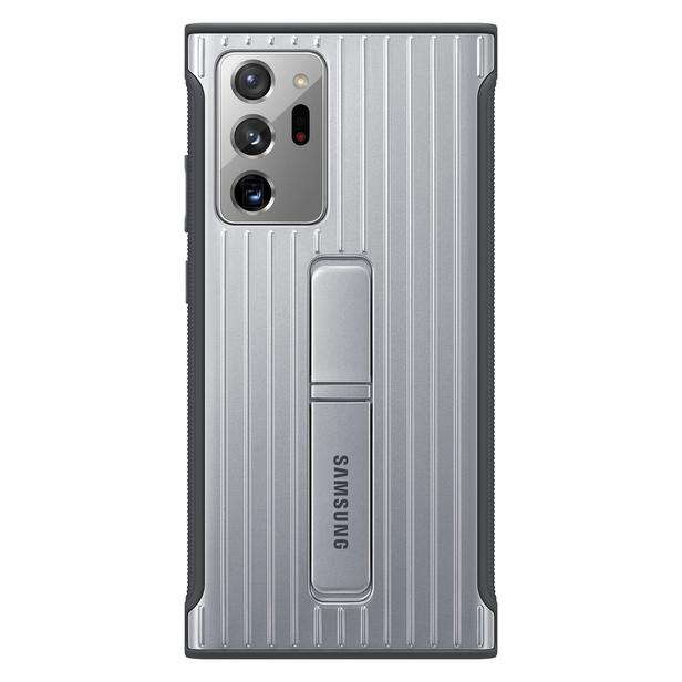 Gümüş Gri Galaxy Note20 Ultra için Koruyucu Kılıf