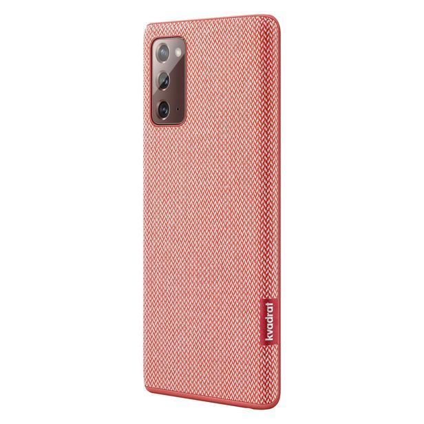 Kırmızı Galaxy Note20 için Kvadrat Kılıf