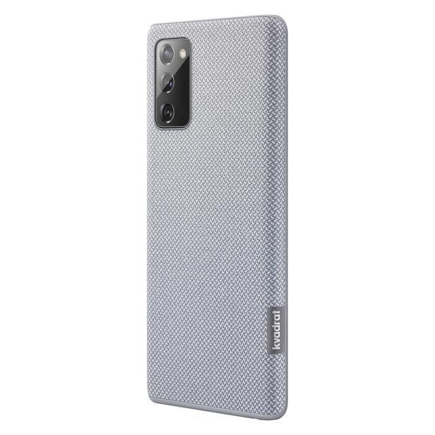 Gri Galaxy Note20 için Kvadrat Kılıf