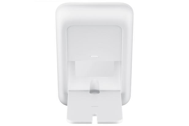 Beyaz Dönüştürülebilir Kablosuz Şarj Cihazı