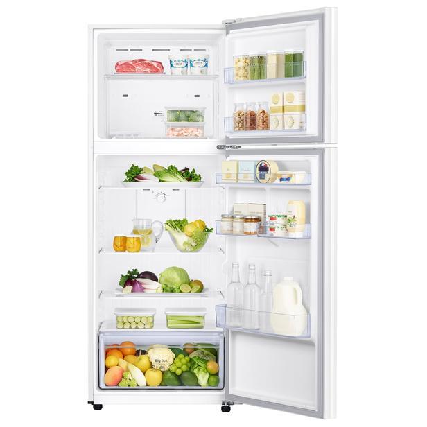 Beyaz RT38K50AJWW Üstten Donduruculu Buzdolabı, 401 L