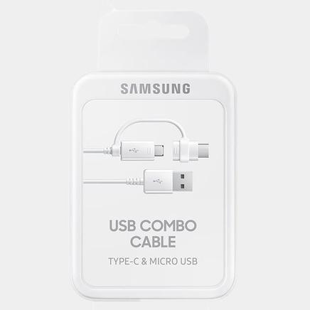 Samsung Type-C + MicroUSB Kombo Kablo