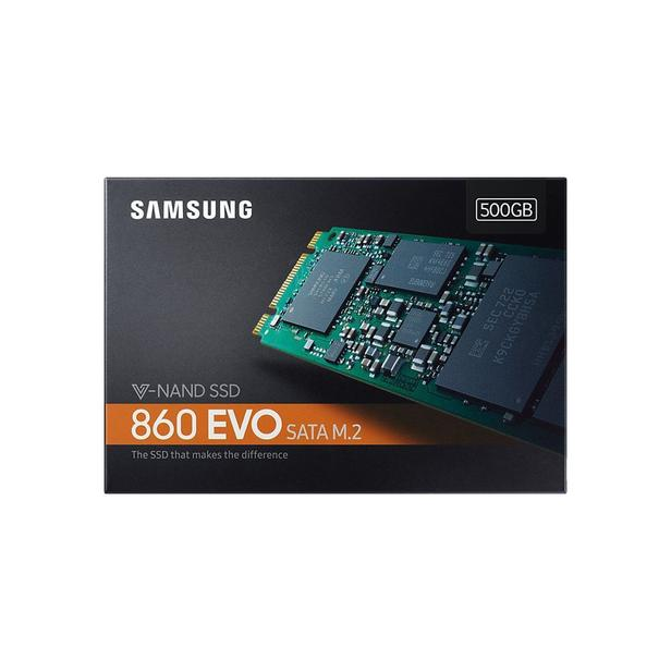 Siyah 860 EVO SATA M.2 SSD 500GB