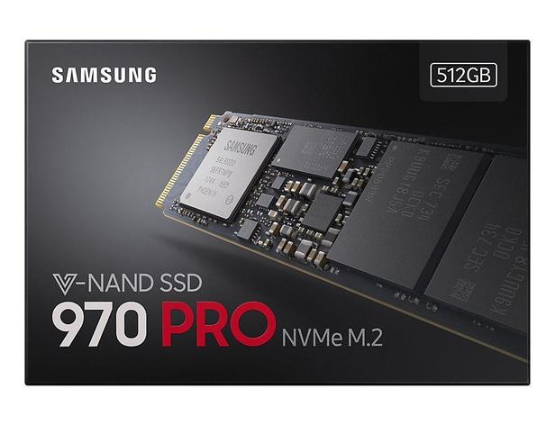 Siyah 970 PRO NVMe™ M.2 SSD 512GB