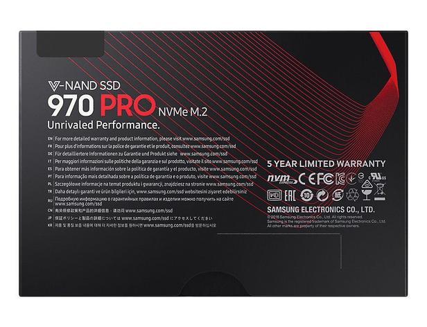 Siyah 970 PRO NVMe M.2 SSD 1TB