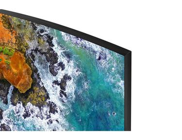 "Siyah 49"" NU7500 7 Serisi Curved 4K UHD TV"