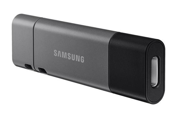 Siyah DUO Plus USB Tip-C Flash Bellek 32GB