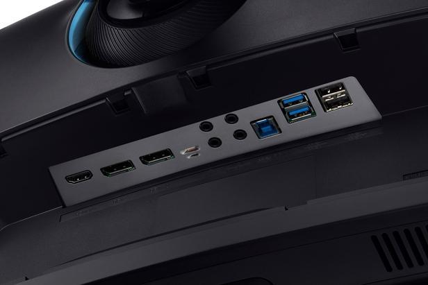 """Gümüş 49"""" CRG9 4 ms 120 Hz Dual QHD QLED Kavisli Gaming Monitör"""
