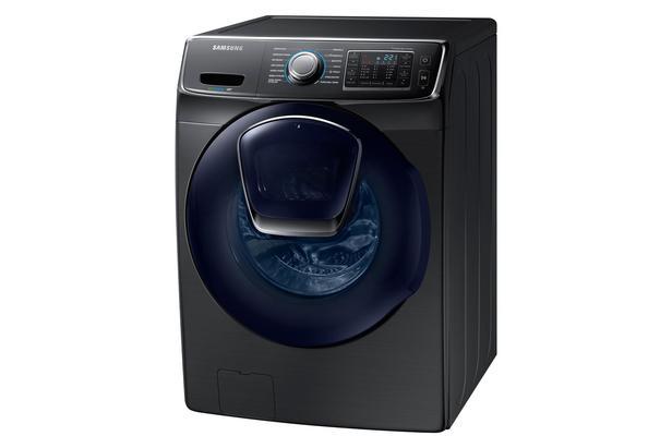 Siyah WF16J6500EV/AH 16 kg AddWash Devir Çamaşır Makinesi