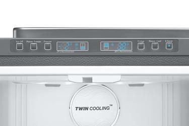 Gümüş RF67HESR Twin Cooling™ Teknolojili Gardırop Tipi No-Frost Buzdolabı
