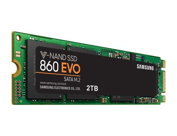 Siyah 860 EVO SATA M.2 SSD 2TB