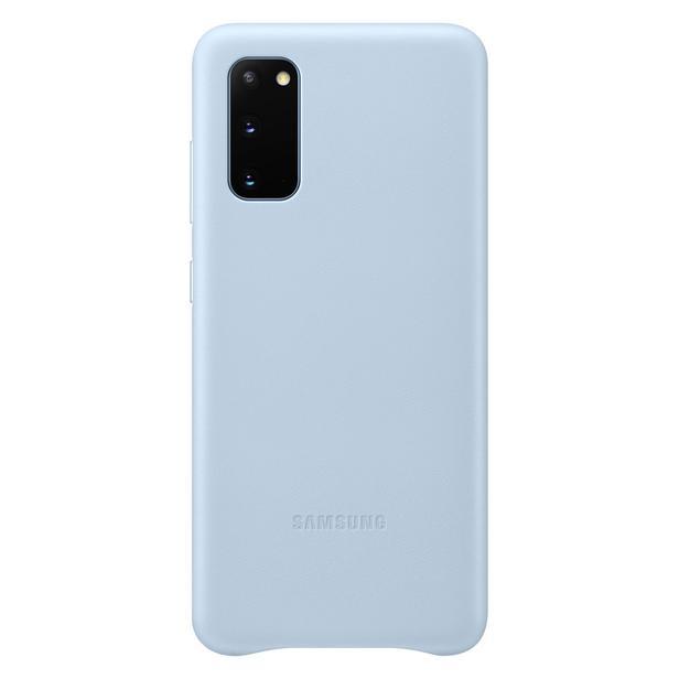 Mavi Galaxy S20 Deri Kılıf
