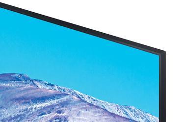 "Siyah 75"" TU8000 Crystal UHD 4K Smart TV"