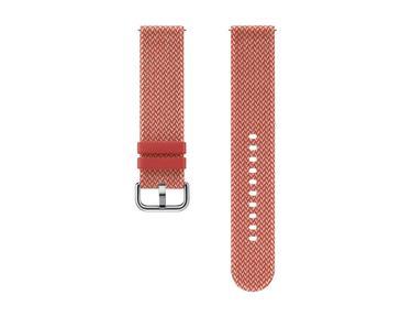 Kırmızı Kvadrat 20 mm Akıllı Saat Kayışı