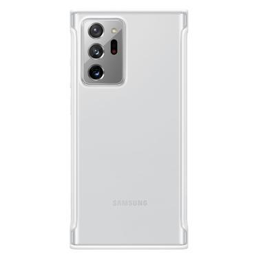 Beyaz Galaxy Note20 Ultra için Şeffaf Koruyucu Kılıf