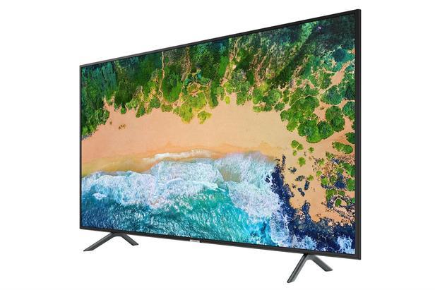 "Siyah 49"" NU7100 7 Serisi 4K UHD TV"