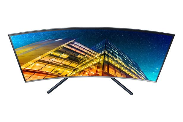 "Siyah 32"" UR59C 4 ms 60 Hz 4K UHD HDMI Kavisli Monitör"