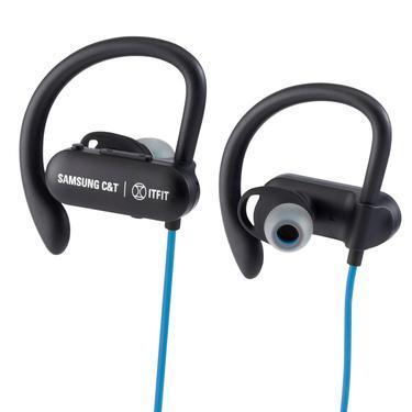 Mavi C&T ITFIT BE7 Kablosuz Kancalı Spor Kulaklık