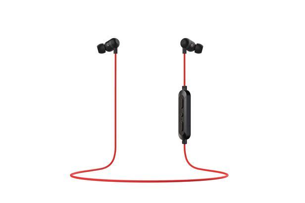 Kırmızı C&T ITFIT 103B Esnek Boyun Bantlı Kablosuz Kulaklık