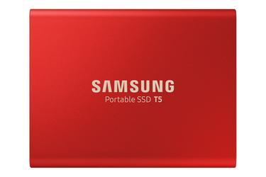 Kırmızı Taşınabilir SSD T5 USB 3.1 1TB (Kırmızı)