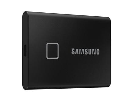 Taşınabilir SSD T7 Touch USB 3.2 500GB (Siyah)