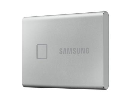 Taşınabilir SSD T7 Touch USB 3.2 500GB (Gümüş)