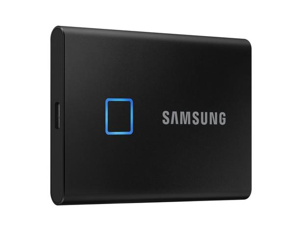 Siyah Taşınabilir SSD T7 Touch USB 3.2 2TB (Siyah)