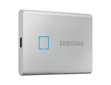 Gümüş Taşınabilir SSD T7 Touch USB 3.2 2TB (Gümüş)