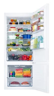 Beyaz RB50RS334WW Twin Cooling™ Alttan Donduruculu 543 L Buzdolabı, Beyaz