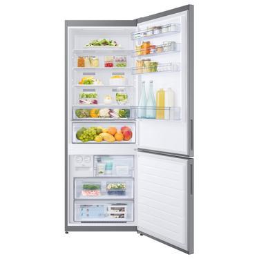 Gümüş RB46TS334SA Twin Cooling™ Alttan Donduruculu 501 L Buzdolabı, Gümüş