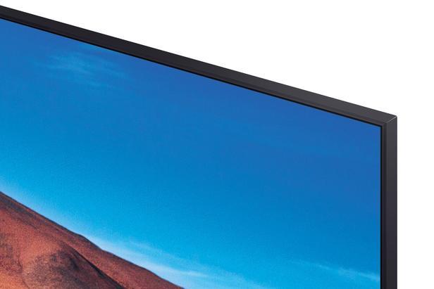 "Siyah 50"" TU7000 Crystal UHD 4K Smart TV"