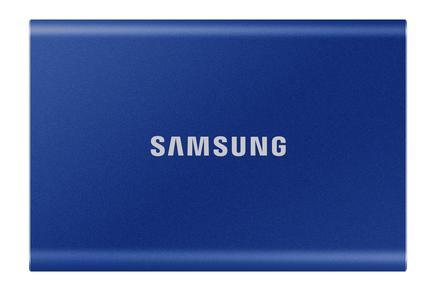 Taşınabilir SSD T7 USB 3.2 Gen 2 500GB (Mavi)