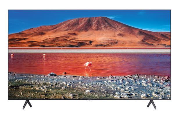 "Siyah 65"" TU7000 Crystal UHD 4K Smart TV"