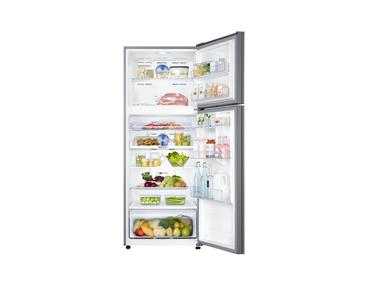 Gümüş RT46K6000S8 Twin Cooling Plus™ Teknolojili Üstten Donduruculu Buzdolabı, 456 L