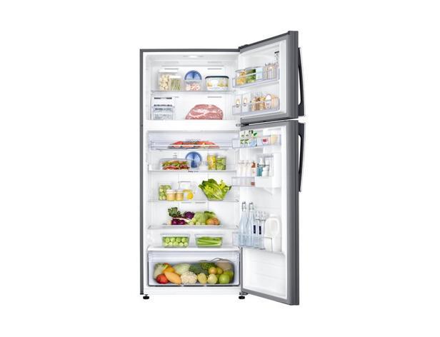 Gümüş RT53K6360SL Twin Cooling Plus™ Teknolojili Üstten Donduruculu Buzdolabı, 531 L