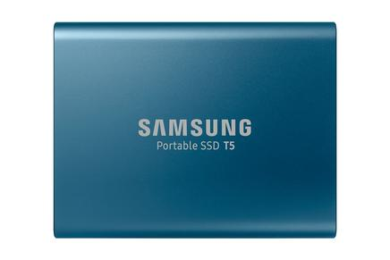 Taşınabilir SSD T5 USB 3.1 500GB (Mavi)