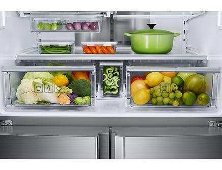 RF85K90127F Triple Cooling™ Teknolojili Gardırop Tipi Buzdolabı, 865 L