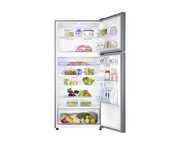 Gümüş RT50K6000S8 Twin Cooling Plus Teknolojili Üstten Donduruculu Buzdolabı 516 Litre