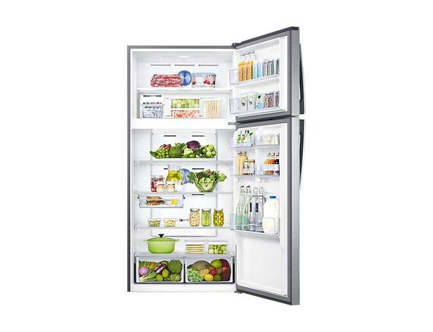 Gümüş RT62K7040SL Twin Cooling Plus™ Teknolojili Üstten Donduruculu Buzdolabı 631L