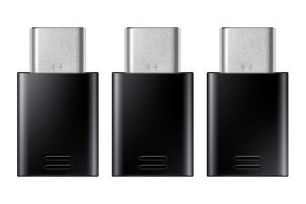 Samsung USB Type-C to MicroUSB Adapter Dönüştürücü - 3'Lü Paket