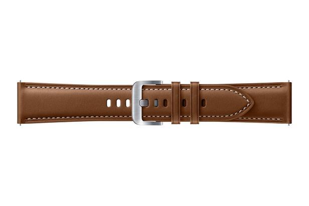 Galaxy Watch3 (45mm) Deri Kayış - Kahverengi